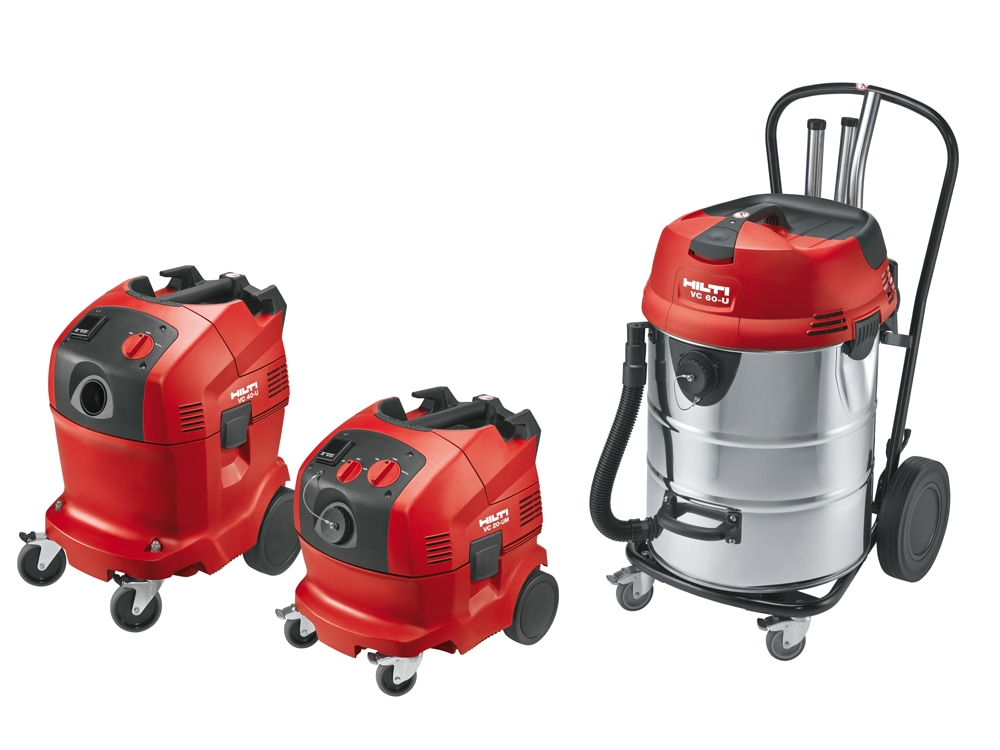Aspirateurs de chantier professionnels hilti france - Aspirateur chantier sans sac ...