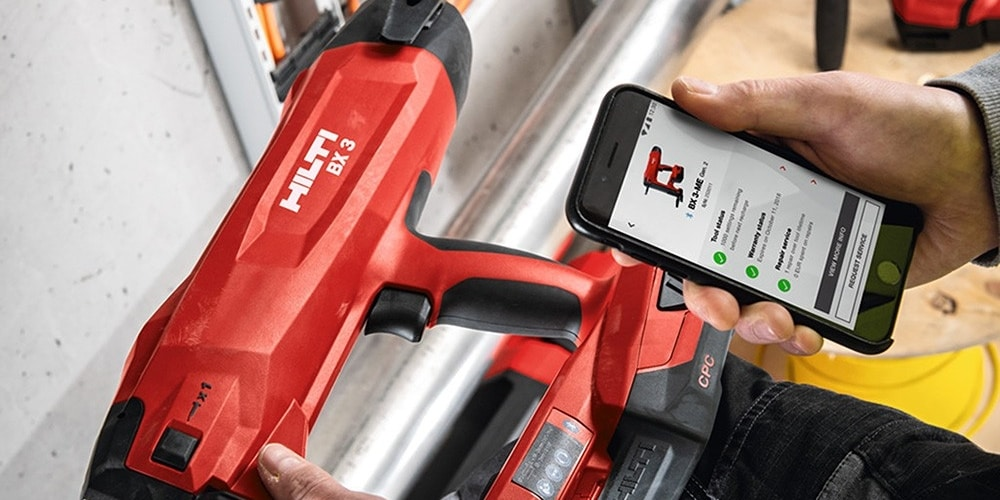 application hilti connect