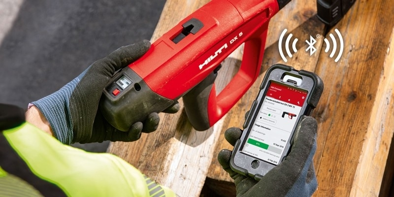 Hilti connect, l'application mobile Hilti