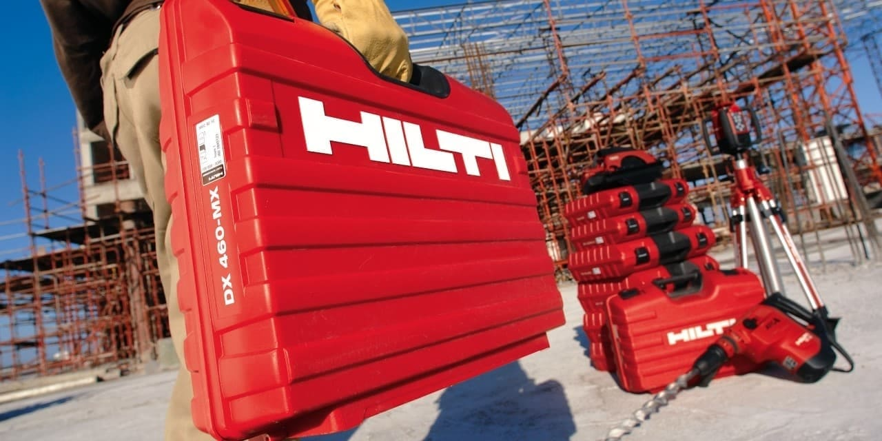 Gestion de parc machines Hilti