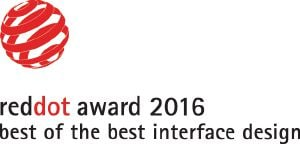 "Ce produit a reçu le prix ""Best of the Best Interface Design"" du concours Red dot design."