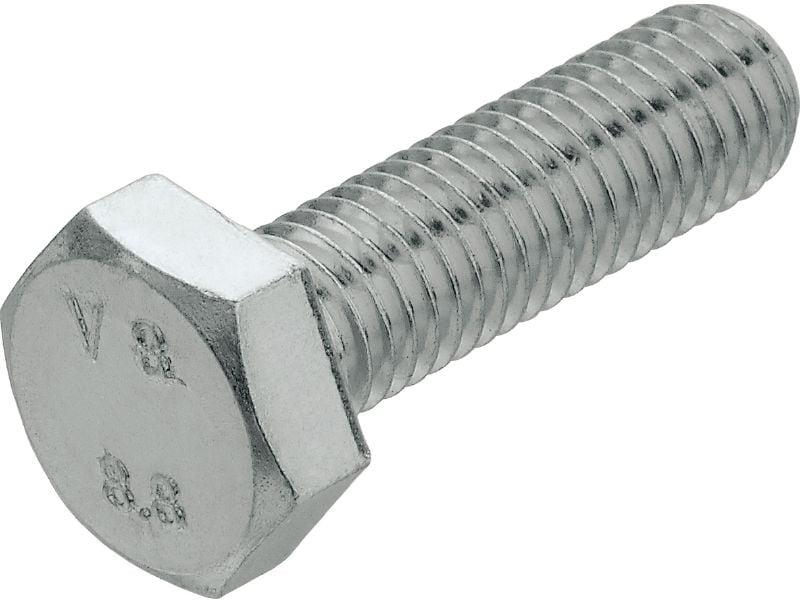 Hexagonal vis avec filetage à tête DIN 933 Acier Inoxydable a4 M 10
